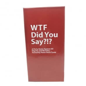 WTF Did You Say? Party Game