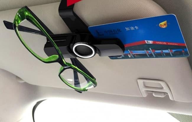 Tesla Sunglasses Clip For Sun Visor | Tech Import World